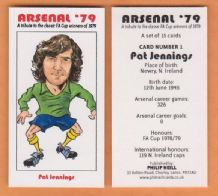 Arsenal Pat Jennings Northern Ireland 1 (B)